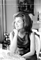 Jacqueline Kennedy Onassis, contemplative